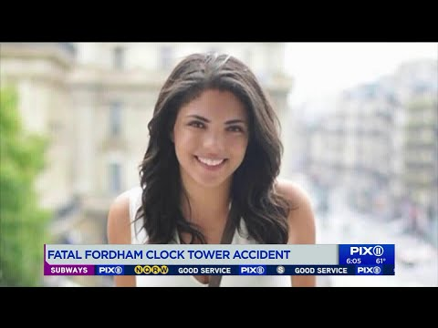 Student dies after falling from Fordham University tower