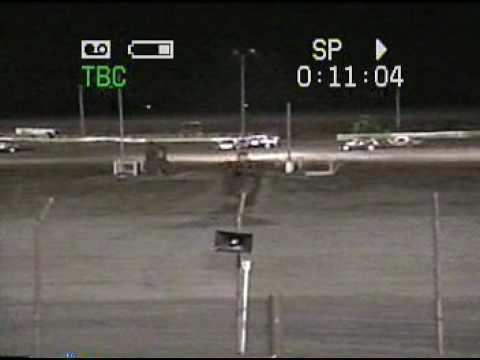 Vintage Studebakers race at Columbus, NE