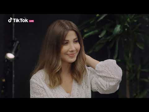 Nancy Ajram - TikTok Live Show 2020 - The Interview نانسي عجرم - مقابلة حفل تيك توك 2020