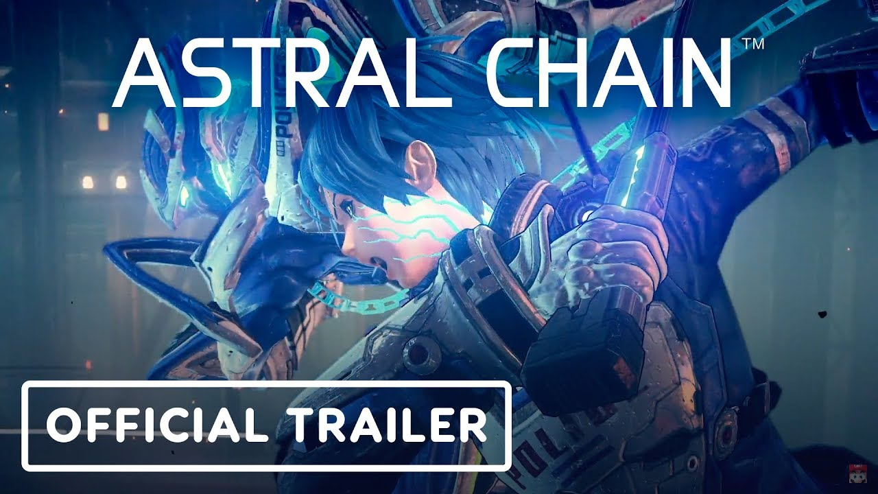 Astral Chain Official Story Trailer - E3 2019 + video