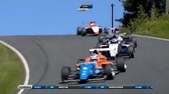 SMP Formula 4 Championship 2017. Ahvenisto Race Circuit. Last Laps