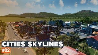 Cities Skylines | #02 | Black Lake | Autostrada przy jeziorze