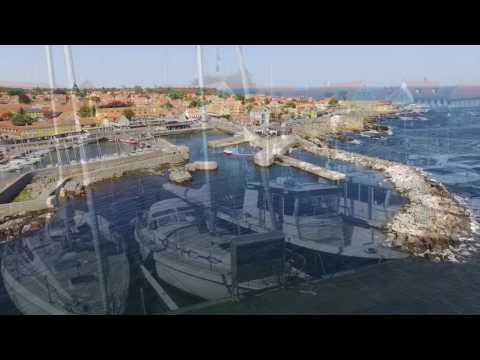 Svaneke Havn på Bornholm