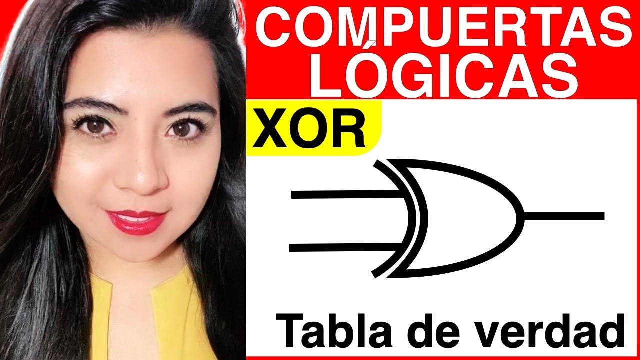 Circuito Xor : Puertas lógicas xor or exclusiva youtube