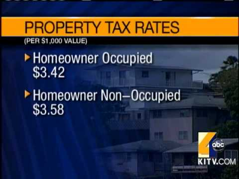 Honolulu City Budget Hikes Property Tax