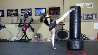 Kickboxing School Girl