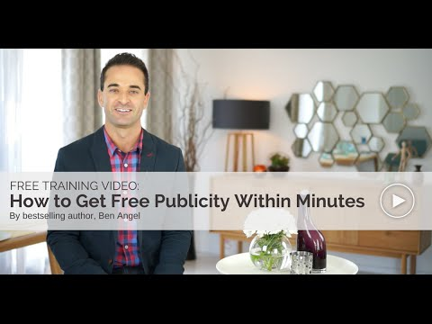 How to Get Free Publicity Within Minutes