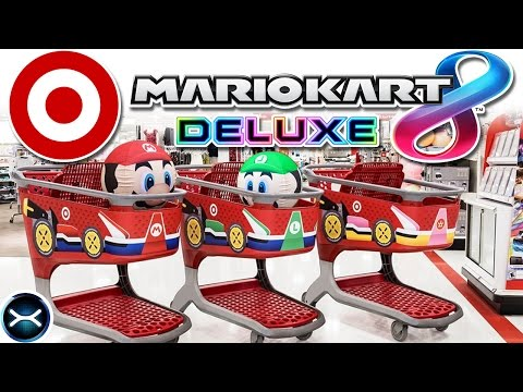 Target & Nintendo Team Up for Mario Kart 8 Deluxe Ad Campaign + Video of the Entrance!