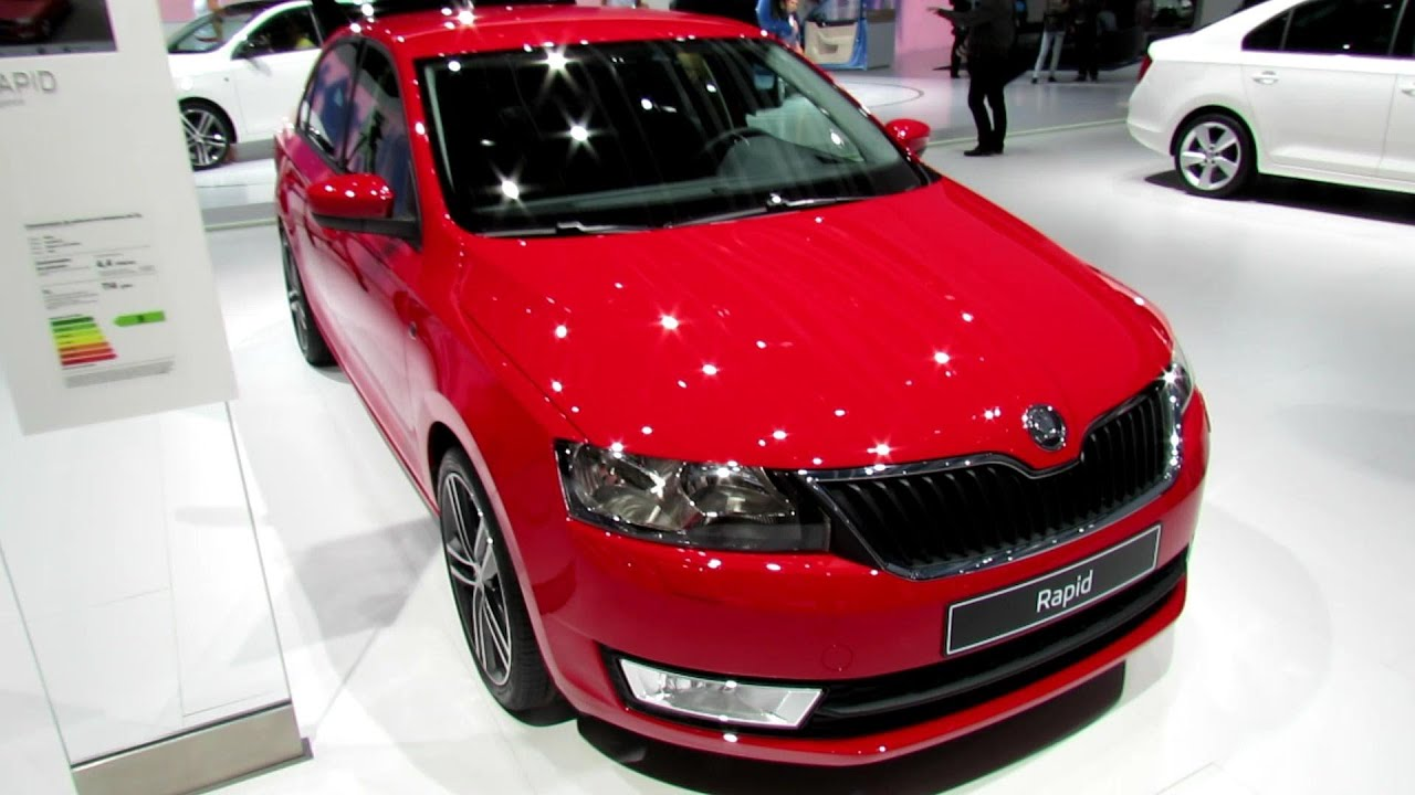 2013 skoda rapid tdi elegance exterior and interior. Black Bedroom Furniture Sets. Home Design Ideas