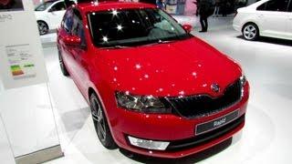 2013 Skoda Rapid TDI Elegance - Exterior and Interior Walkaround - 2012 Paris Auto Show