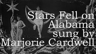 "Marjorie Cardwell - STARS FELL ON ALABAMA w. Lyrics & Chords - From ""A Tribute To RICK NELSON"""