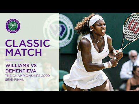 Serena Williams Vs Elena Dementieva Wimbledon 2009 SF