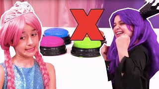 Don't Push The Wrong Button! | Kiddyzuzaa - Princesses In Real Life