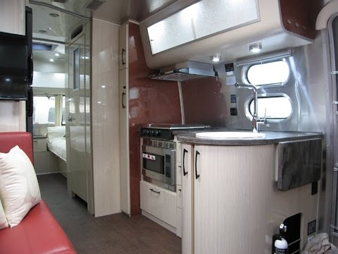 Unique 2016 Airstream International Serenity 25FB Twin Bed Floor Plan - YouTube