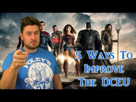 5 Ways To Improve The DC Extended Universe