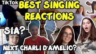 SINGING REACTIONS on OMEGLE TIKTOK SONGS
