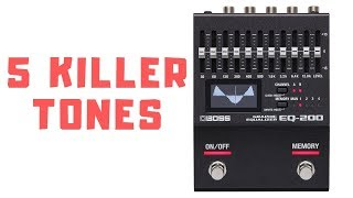 BOSS EQ200 - 5 Killer Tones