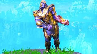 THANOS Freestylin *NEW* EMOTE DANCE!! Fortnite Battle Royale