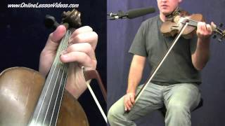 LEATHER BRITCHES - [HD] - Bluegrass Fiddle Lessons by Ian Walsh