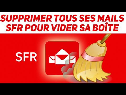 TUTO : vider complètement un email SFR