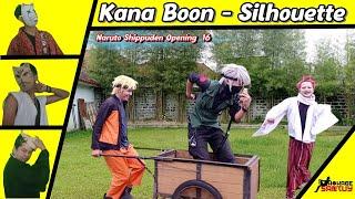 NARUTO SHIPUDEN opening 16 : KANA BOON - SILHOUETTE  [Koplo version] with [MV] Parody
