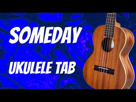 Someday - The Strokes Ukulele Tab