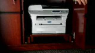 Jazzyexpo.com Modern Executive Office Desk Furniture Printer Cabinet