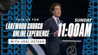 Lakewood Church  | Joel Osteen | Sunday Service 11am