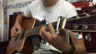Anh Cứ Đi Đi Cover || Guitar Solo Cực Hay || Hướng Dẫn Solo Guitar Anh Cứ Đi Đi
