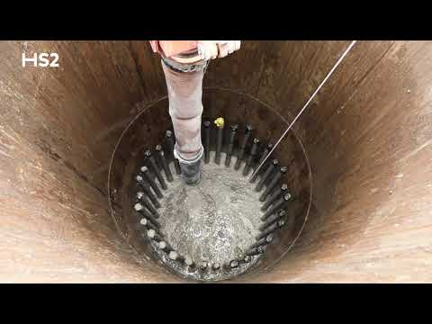 Innovation Update: World first vacuum excavation technique at HS2's Euston site.