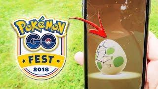 ¡ABRIENDO HUEVOS ESPECIALES del Pokémon GO Fest 2018! [Keibron]