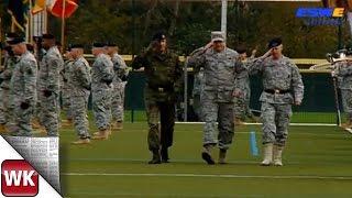 Wiesbaden / Erbenheim: Zeremonie zum Kommandowechsel in der U.S. Army Europe