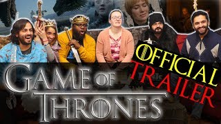 Game Of Thrones Season 8 - Official Trailer - Group Reaction