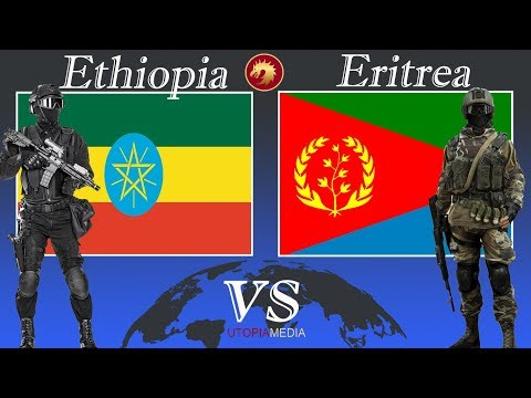 ETHIOPIA vs ERITREA military power comparison 2021