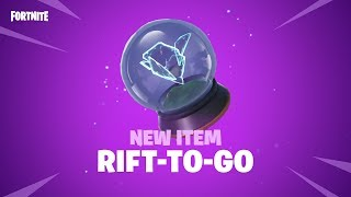 RIFT-TO-GO | NEW ITEM
