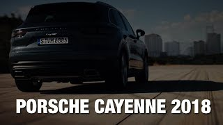 Вот он, новый Porsche Cayenne 2018