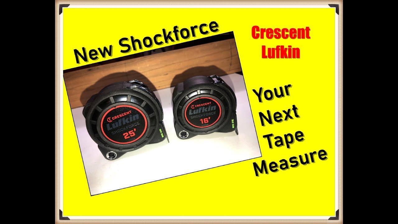 Crescent Lufkin Shockforce Tape Measure Review