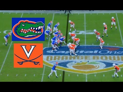 Virginia Vs Florida Football Bowl Game 12 30 2019