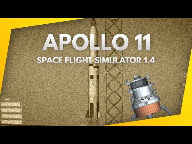 NEW Ultra Realistic Apollo 11 Mission - Space Flight Simulator 1.4