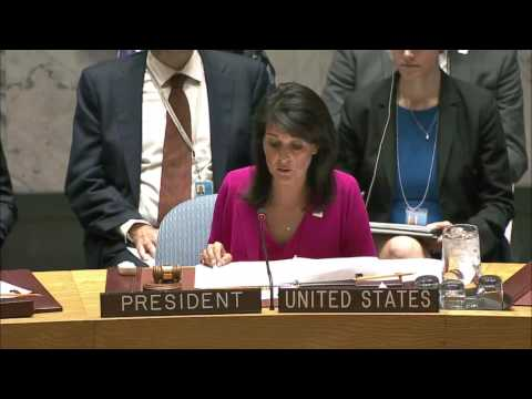 Ambassador Nikki Haley Remarks at a UN Security Council Thematic Debate on Human Rights 4/18/17