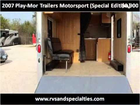 2007 Play-Mor Trailers Motorsport (Special Edition) Used Car