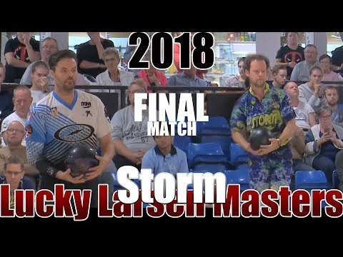 2018 Bowling - PBA Bowling Storm Lucky Larsen Masters Final - Jason Belmonte VS. Kyle Troup