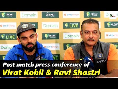 Watch: Virat Kohli & Ravi Shastri's full post-match press conference | 4th Test | Australia vs India