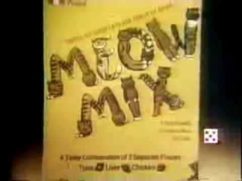 1979 Meow Mix Purina Cat Food Commercial