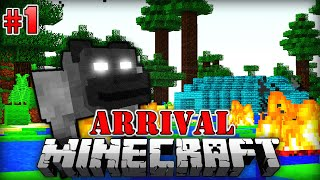 MUTIERTE Supergorillas - Minecraft Arrival #001 [Deutsch/HD]