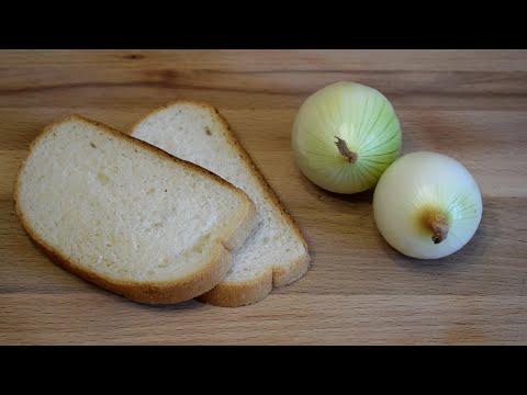 Что я готовлю, когда в КОШЕЛЬКЕ ПУСТО! Бюджетная закуска за 5 минут! Sandwiches with onions