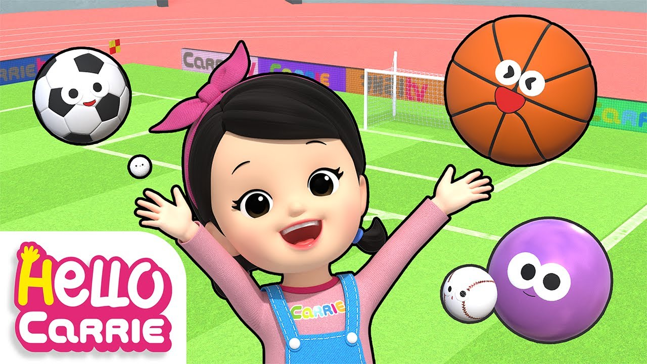 Sports Ball Song   Sports Song   Kids Song