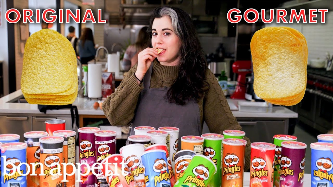Pastry Chef Attempts to Make Gourmet Pringles | Gourmet Makes | Bon Appétit