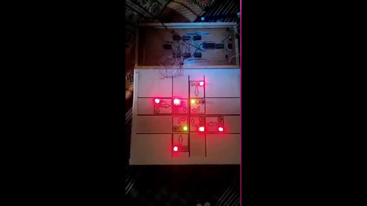 DLD (Digital Logic Design) Project - Traffic Light Controller - YouTube