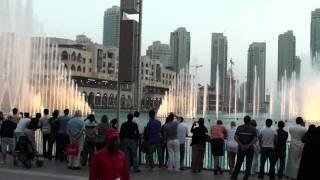 Musical Fountain at Dubai Mall_2